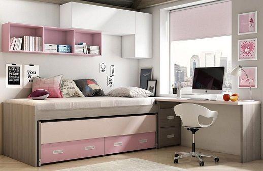 Camas con escritorio incorporado cama abatible horizontal magic with camas con escritorio - Cama con escritorio abajo ...