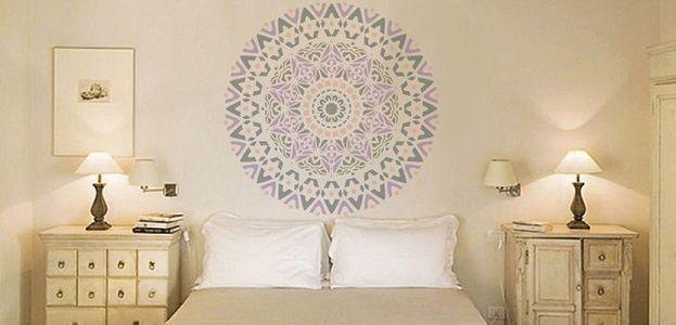 Ideas para cabeceros de cama low cost s per originales - Cabeceros de cama originales pintados ...