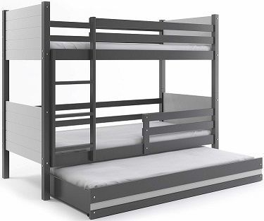 cama nido 3 plazas con litera