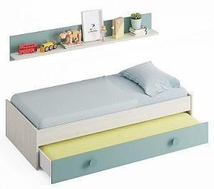 cama nido doble sin cajones