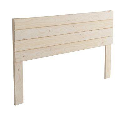 cabecero de cama de madera barato
