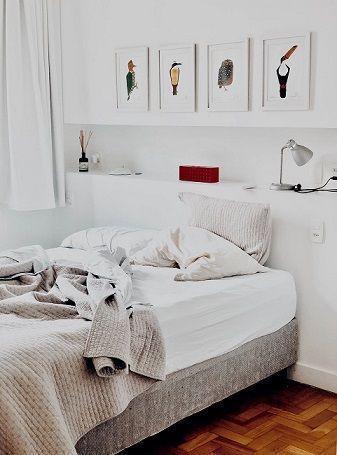 cama sin hacer