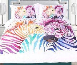funda nórdica zebra
