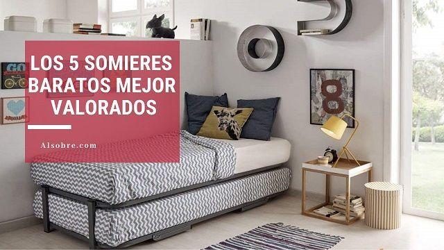 Los mejores somieres baratos de 2019¡Tirados de precio!